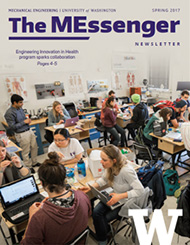 Cover of MEssenger newsletter