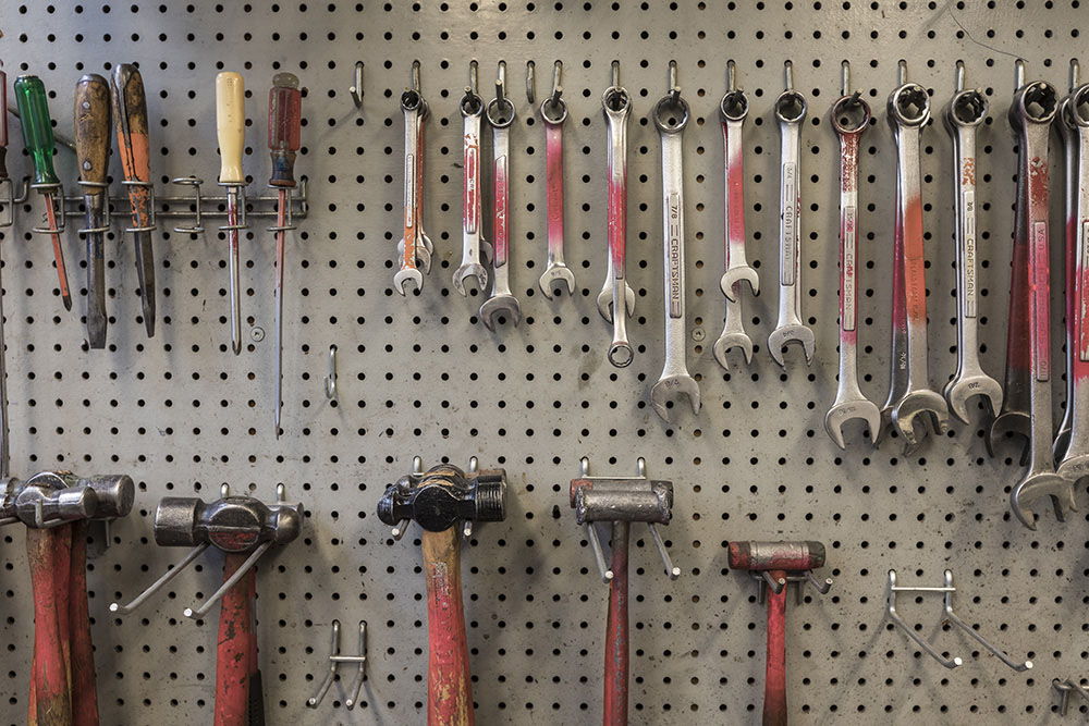 Wrenches and hammers