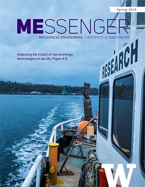 MEssenger Newsletter Spring 2019 Cover
