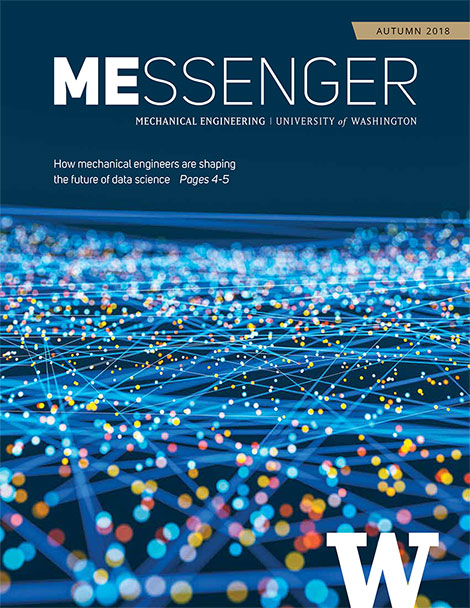 MEssenger Newsletter Autumn 2018 Cover