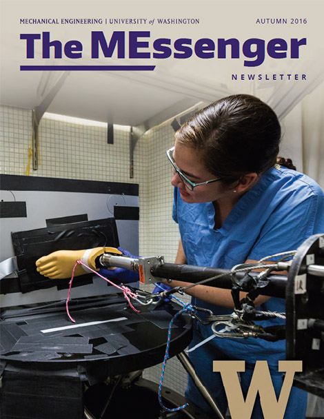 MEssenger autumn 2016 cover