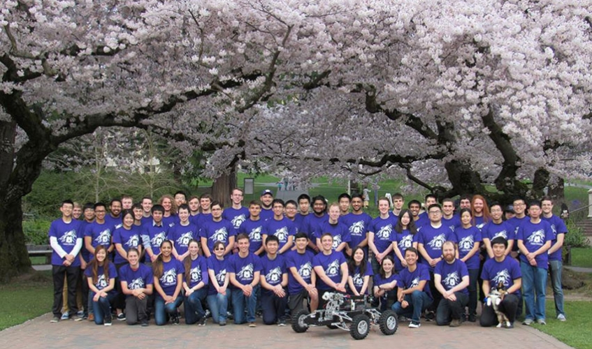 Husky Robotics group photo