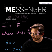 Cover of Autumn 2020 MEssenger
